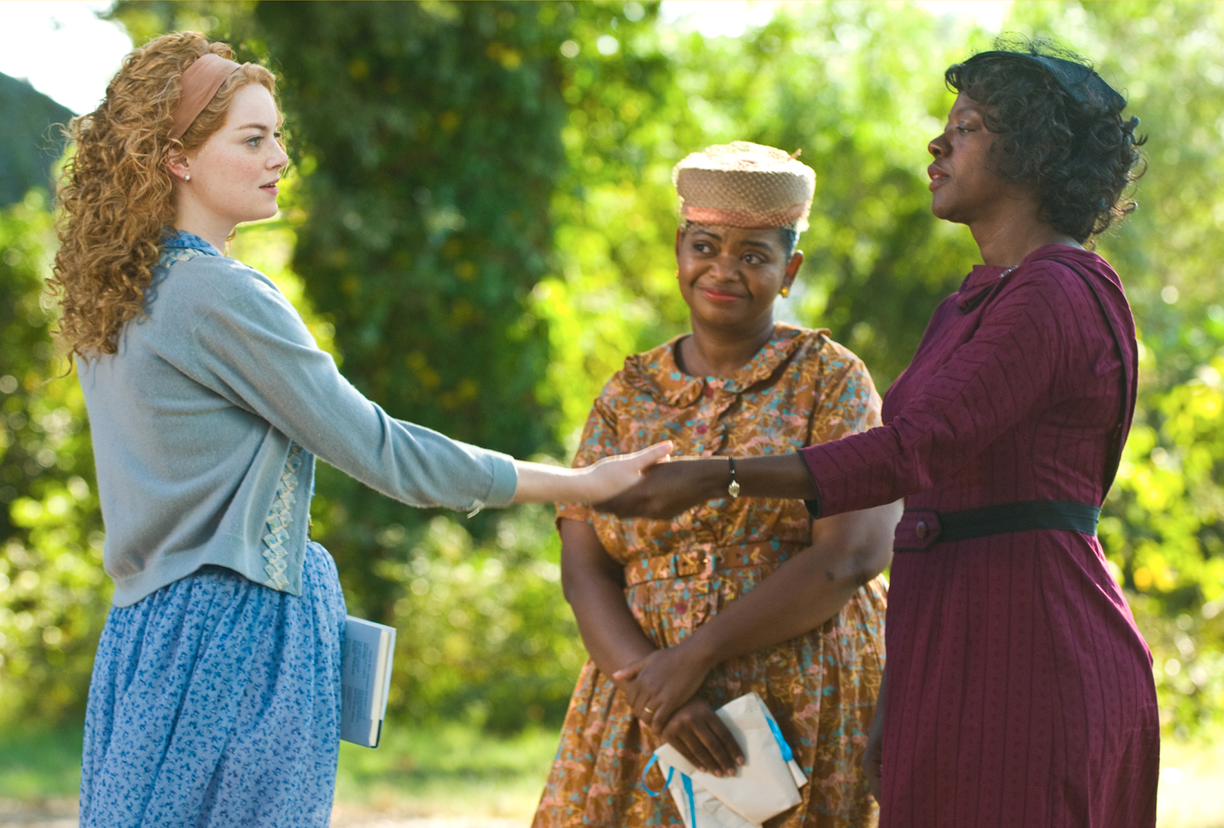 a review of the help a movie by tate taylor The help stars emma stone as skeeter, viola davis as aibileen and octavia spencer as minny-three very different, extraordinary women in mississippi during the 1960s, who build an unlikely.