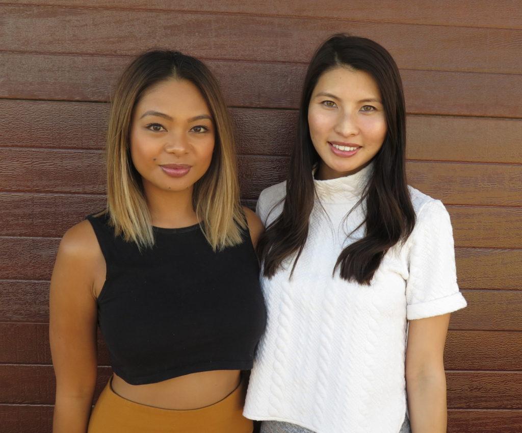 Ivy Arellano and Loan Tran.