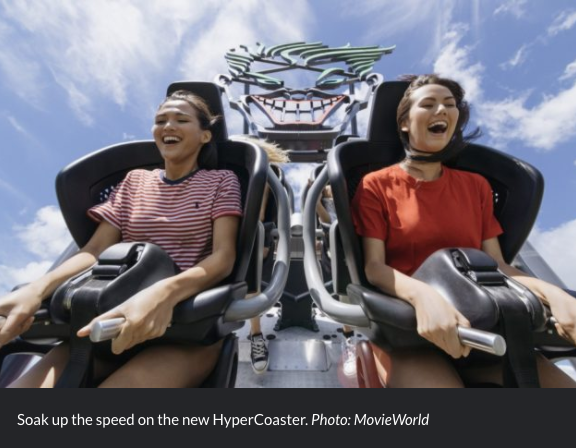 MovieWorld HyperCoaster